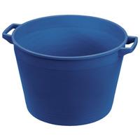 Для конюшни Ведро резиновое Plastica Panaro синее 45 л