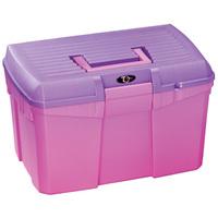 Для конюшни Ящик для щеток Plastica Panaro розовый/синий
