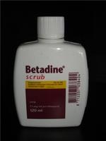 Ветеринария Скраб Betadine 120мл