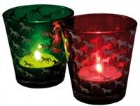 Жилетки 3 подставки для свечей HappyRoss «Лошади»