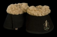 Колокольчики Колокольчики магнитные с мехом Torpol синтетика, черные р.XL