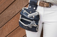 Сумки для аксессуаров Сумка на пояс TransHorse Sport текстиль серебро
