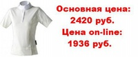 Рубашки  Рубашка женская Euro-Star Christel кор. рукав