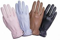 Перчатки Перчатки Roeckl кожа со стразами