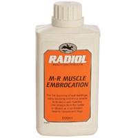 За суставами и сухожилиями Гель от опухолей и синяков Radiol M-R Muscle Embrocation 500ml