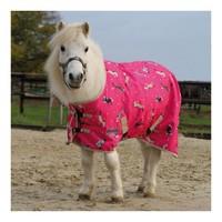 Прогулочные Попона прогулочная Waldhausen розовая с лошадками