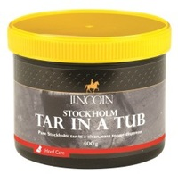 За копытами Стокгольмская смола Lincoln Stockholm Tar in a Tub 400g