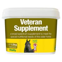 Подкормка для пожилых лошадей NAF Veteran Supplement cрок 01.16